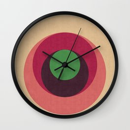 Minimalist and geometric composition Wall Clock
