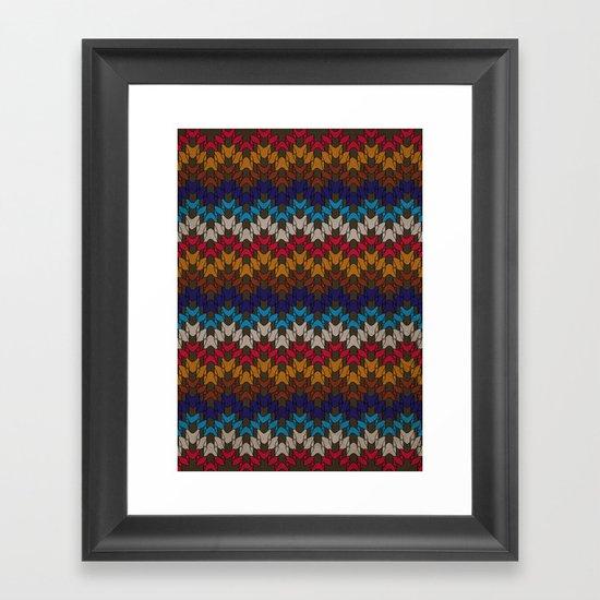 Daddy's Sweater Framed Art Print