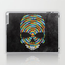 Hypnotic Skull Laptop & iPad Skin