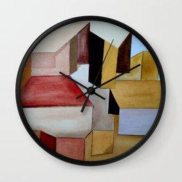 La Ciudad Ocre Wall Clock