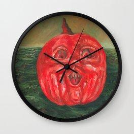 Jack o' Lantern Sea Wall Clock