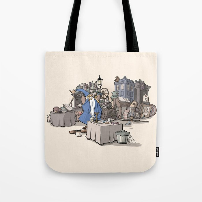 Collection of Curiosities Tote Bag