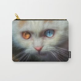 Odd-Eyed Persian Kitten Carry-All Pouch
