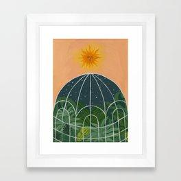 The Captive Night Framed Art Print