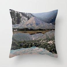 Mountains beyond mountains Throw Pillow