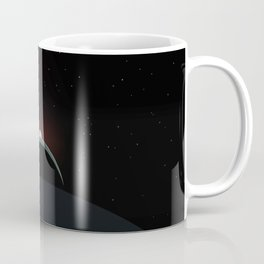 2001 Space Odyssey Sun, Earth, Moon Alignment Coffee Mug