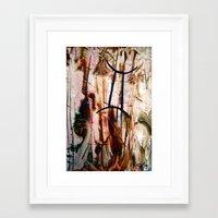 gemini Framed Art Prints featuring Gemini  by ART de Luna