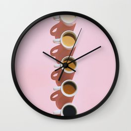 Pop Coffee Wall Clock