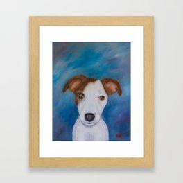 Jake's portrait Framed Art Print