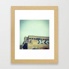 Look up MTL Framed Art Print