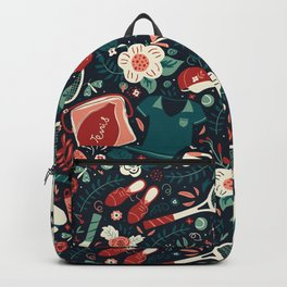 Tennis Style Backpack