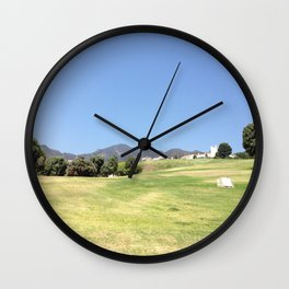 Salt & Pepperdine Wall Clock
