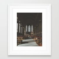 hogwarts Framed Art Prints featuring Hogwarts.  by Zach Reed