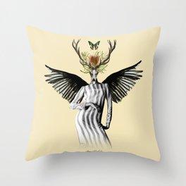 complicated creature - temptation Throw Pillow