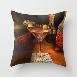 Catacomb Culture - Halloween Martini Throw Pillow