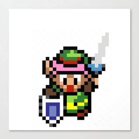 Legend of Zelda - Link Canvas Print