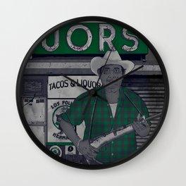 Liquors Wall Clock
