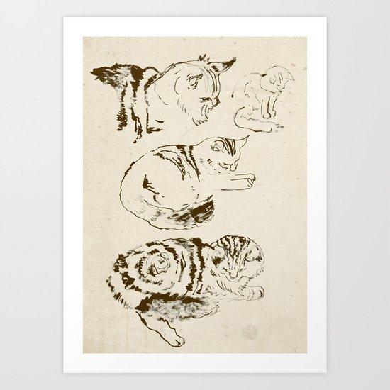 Harryhausen (full page version) Art Print