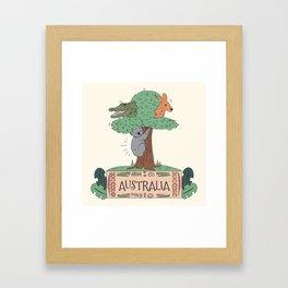 Wild Australia Framed Art Print