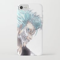 bleach iPhone & iPod Cases featuring Grimmjow Bleach  by Naomi Simone