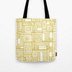 Golden Doodle patchwork Tote Bag