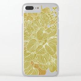 grandma's garden Clear iPhone Case
