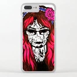 My Cracked Mask Clear iPhone Case