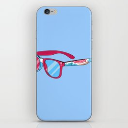 Noviewmber glasses iPhone Skin