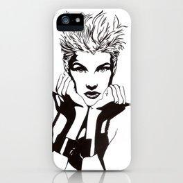 In Black & White I iPhone Case