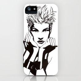 In Black & White I iPhone Case