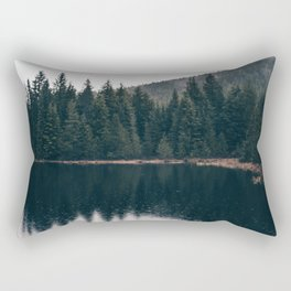 Forest Lake Rectangular Pillow