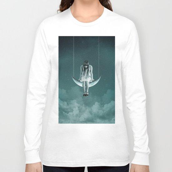 Moon Girl Dreams Long Sleeve T-shirt