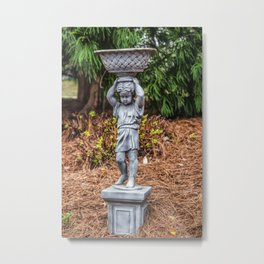 The Water Carrier Metal Print