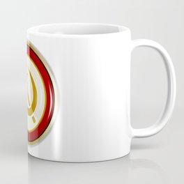 Russian Pin Badge Coffee Mug