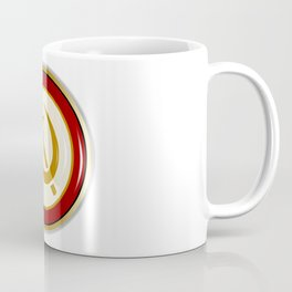 Russian Pin Badge Coffee Mug