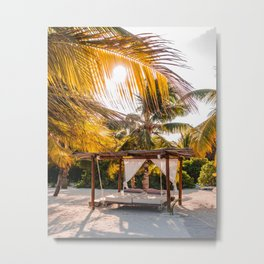 Beach please | Travel Photography Metal Print