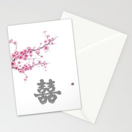 double happiness Stationery Cards