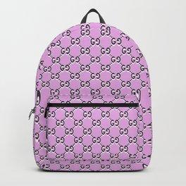 GG pink & black Backpack