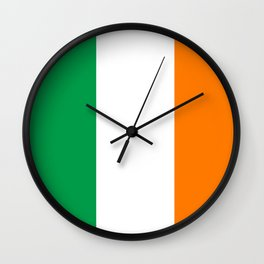 Flag of Ireland - Irish Flag Wall Clock