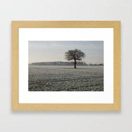 Winter in Yorkshire Framed Art Print