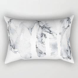 Marble stains Rectangular Pillow