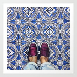Art Beneath Our Feet - Ancona, Italy Art Print