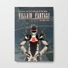 Villain Fantasy_FORGE Metal Print