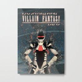 Villain Fantasy_FORGE Metal Print