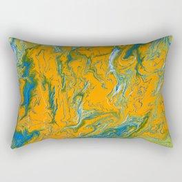 Topographie concepteur 1 landscape Rectangular Pillow