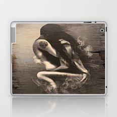 I Miss Us  (wood texture) Laptop & iPad Skin