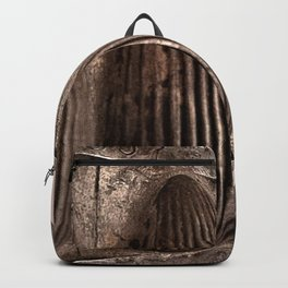 Antique Chocolate Egg Mold Backpack