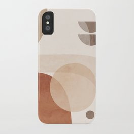 Abstract Minimal Shapes 16 iPhone Case