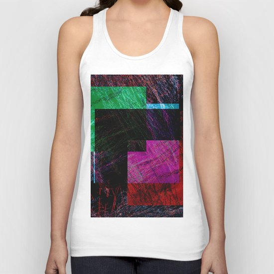 geometric abstract design # ###     ## Unisex Tank Top