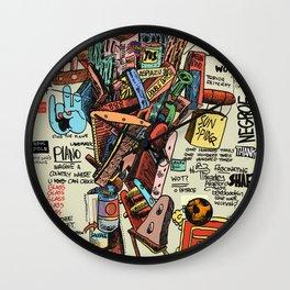 OM MANI PADME Wall Clock